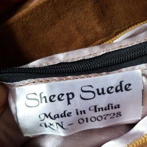 Sheep Suede Made In India Bags - Sheep Suede Mini Handbag India